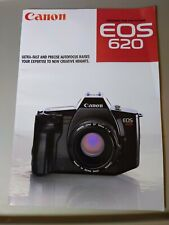 Canon EOS 620 Broucher Rare SLR 31 Pages 1987