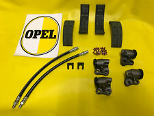 Opel Olympia Rekord P1 / P2  +  Rekord A Radbremszylinder Bremsbeläge Schläuche