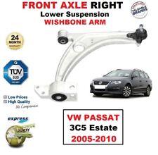 Asse Ant Dx Braccetto Inferiore Della Sospensione per Volkswagen VW Passat 3C5