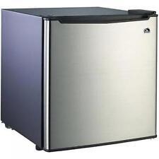 Small Refrigerator Dorm Fridge 1.7 cu ft Office Compact Room Beer Cooler Steel