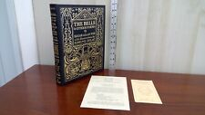 The Bells and Other Poems Poe Leather Book Easton Press 2000. Unread