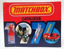 U.S. Edition 1976 MATCHBOX Diecast TOYS CATALOG England unused nm to mint