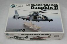 MAQUETTE HELICOPTERE 1/48 KITTY HAWK SA365F/AS 565SA  DAUPHIN KH80108 MODEL KIT
