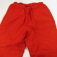 Boathouse Custom Made Gore-Tex Boat Pants Men's Size M Red Medium Water Protect