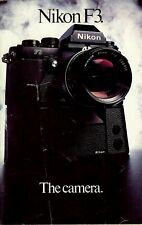 Prospekt Nikon F3 English
