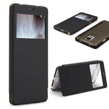 Samsung Galaxy Note 4 View Case Sichtfenster Cover Handy Schutz Hülle Tasche