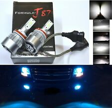 LED Kit C6 72W H8 8000K Blue Light Two Bulbs DRL Daytime Cornering Angel Eye OE