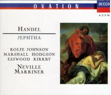 Handel: Jephtha / Neville Marriner, Rolfe Johnson, Paul Eswood, Emma Kirkby - CD