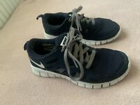 Nike Free Run 2.0 Grey Blue White size 4