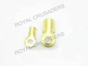 NEW CAR BATTERY CABLE CONNECTOR TERMINAL LUGS @JR