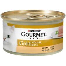 Gourmet Gold Mousse con Tacchino 85 gr per Gatti