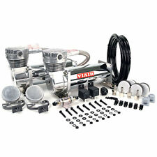 VIAIR Dual 480C 12-Volt 200-PSI Chrome Value Pack Air Compressor Kit