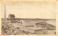 Woodland Maine St Croix Paper Co Mills Antique Postcard K69665