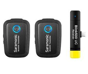 Saramonic Blink500 B6 drahtloses Mikrofonsystem für Android Geräte