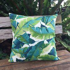 Balmoral Palm Leaf Outdoor Cushion Cover Home Decor