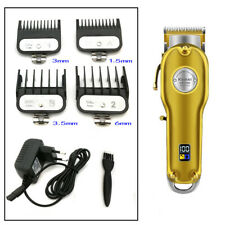 Kemei KM-1986 Rechargeable Cordless Barber's Hair Clippers Trimmer Grooming Kit