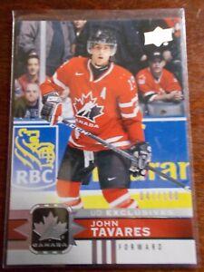 2017-18 TEAM CANADA..Rare Exclusive  SP  047/100 JOHN TAVARES
