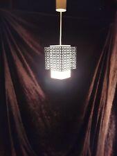 alte Lampe 50er60er Jahre Flurlampe floor lamp 50s60s Haengelampe mid century