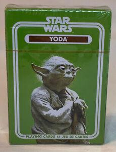 "Aquarius Brand Star Wars ""Yoda"" Playing Cards Sealed New In Shrinkwrap"