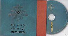 GLASS ANIMALS REMIXES 4 TRACK PROMO CD