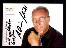 Hans Joachim Schröter MDR Autogrammkarte Original Signiert # BC 64239