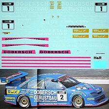 Opel Omega 1995 Dobersch #1 Kissling Motorsport 1:43 Decal Abziehbild