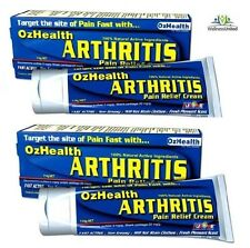 2 x 114g OZHEALTH Arthritis Pain Relief Cream OZ HEALTH