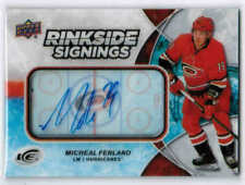 18/19 2018 UD ICE UPDATE MICHEAL FERLAND RS-MF RINKSIDE SIGNINGS AUTO CAROLINA