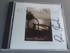 Revolutions by Dean Shostak Glass Armonica/Crystal Music/Adagio in C SIGNED!