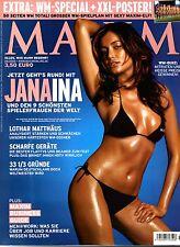MAXIM 06/2006   JANA INA + XXL WM-Poster!*   Juni/2006