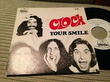 "CLOCK SPANISH 7"" SINGLE SPAIN WHITE LABEL HANG ON PSYCH ROCK PROG DIMENSION"