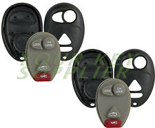 2 New Replacement Keyless Entry Remote Key Fob Shell Case 4 Button Pad L2C0007T