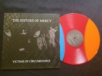 THE SISTERS OF MERCY VICTIMS RARE LP VINYL TRI-COLORED