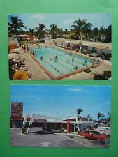 The Rancher Motel Post Cards North Miami Florida
