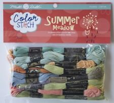 10% Off Mill Hill/DMC Color Stitch Floss for Pre-printed Paper - Summer Meadow