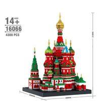 Vasily Cathedral Architecture Building Blocks Model Nano Bricks Kids Toys Gifts