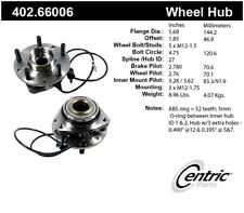 Axle Bearing and Hub Assembly-Premium Hubs Front Centric 402.66006
