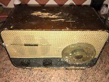 Vintage Valve Radio,Ultra U960,c.1957,Severe Woodworm Damage To Base and Front