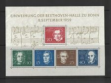 1959 Germany Beethoven MS no.2 mint no gum
