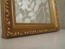 Hermoso Barroco Mini Espejo de Pared Shabby Aspecto Antiguo 20x25 cm dorado