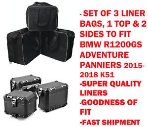 PANNIER LINER BAGS & TOP BOX BAG FOR BMW R1200GS ADVENTURE 2016-2018 LC K51