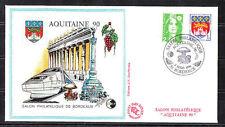BLOC   CNEP   NUM.   12  Aquitaine     1990  sur enveloppe