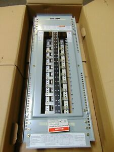 Cutler Hammer Eaton 42 Circuit Panelboard PRL1A 100 Amp 120/240V 1 Phase