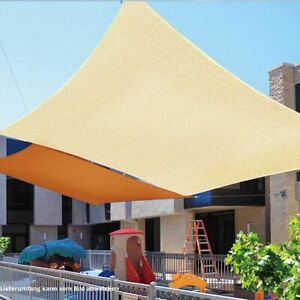 Sonnensegel HDPE Rechteck Wasserdurchlässig Expand Sonnenschutz Schattensegel