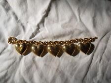 Bracelet Agatha coeurs dorés