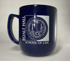 University of California Berkeley School of Law Boalt Hall Blue Mug 1868 Logo