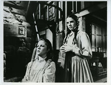 Little House on the Prairie Melissa Sue Anderson in chair Melissa Gilbert photo