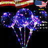 20inch LED Light Balloon Transparent Balloon Wedding Birthday Party Lights Decor