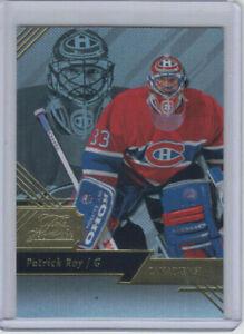 16/17 Fleer Showcase Montreal Canadiens Patrick Roy Flair Showcase card R1 S10