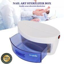 UV Towel Sterilizer Cabinet Salon Beauty Tattoo Nail Make Up Tool Disinfection